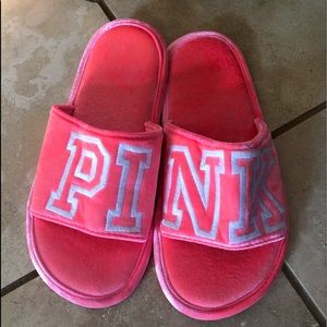 Pink by Victoria's Secret slippers
